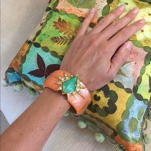 Alexis Bittar Jewelry - Alexis Bittar Keith Haring inspired bracelet